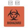 Biohazard Label, 6in x 6in