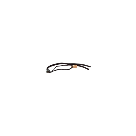 Medium/Large Straps, Black, For Safety Glasses