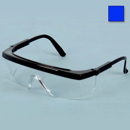 *Limited Quantity* Apollo XR Safety Glasses, Clear Lens, Blue Frame