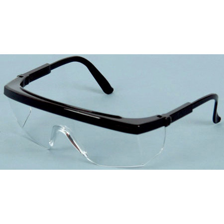 *Discontinued* Apollo XR Safety Glasses, Clear Lens, Black Frame