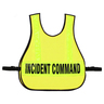 Command Vest with Reflective Stripes, Titled, Yellow