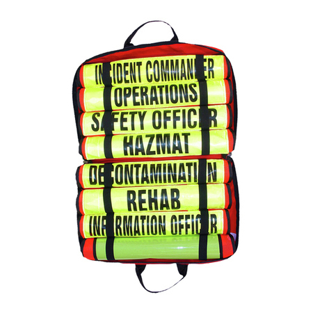 Triage Vest Kit, Set of 8