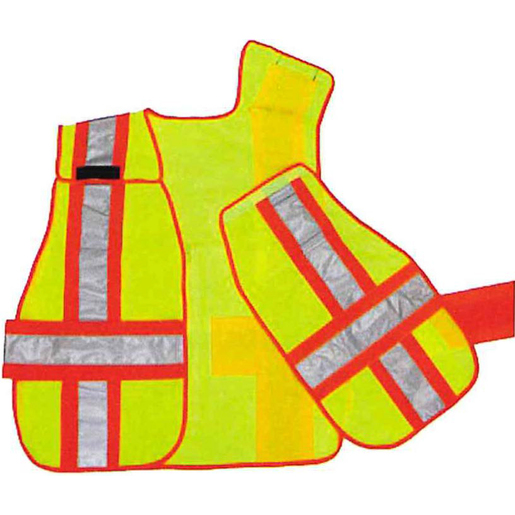 Breakaway Vests, ANSI, Lime Green