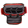 A300X-B Intermediate II Trauma Bag with Adjustable Insert, Red