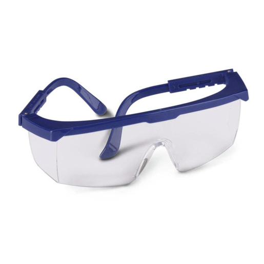 Gateway Strobe™ Protective Eyewear, Blue Frame, Clear Lens *Non-Returnable and Non-Cancelable*