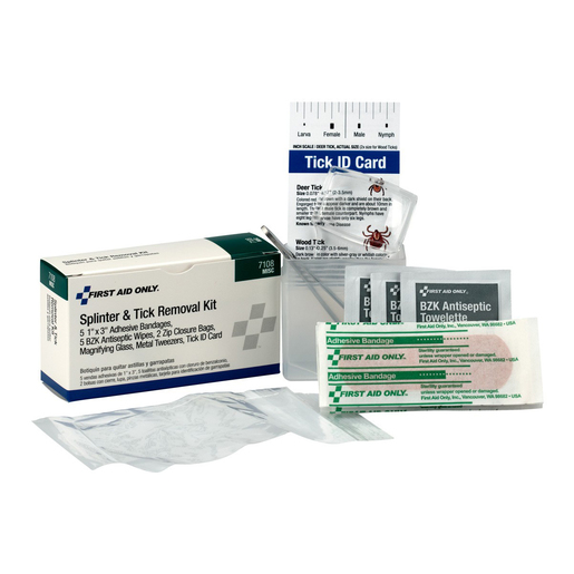 FIRST AID ONLY® Splinter & Tick Removal Kit