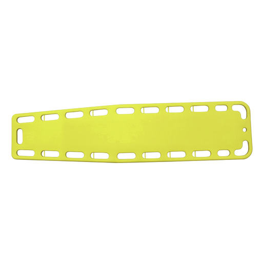 Kemp USA AB Spine Board, with Pins, Adult, Yellow