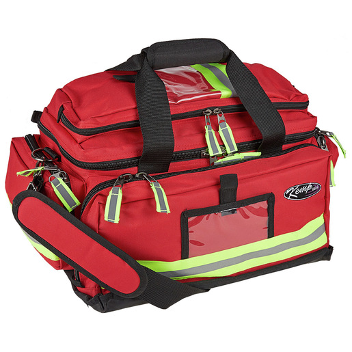 First Responder Trauma Kit with C.A.T. Tourniquet, Red