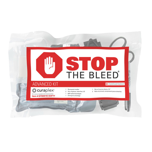 Curaplex® Stop the Bleed®, Basic Kit w/ SOFT-T