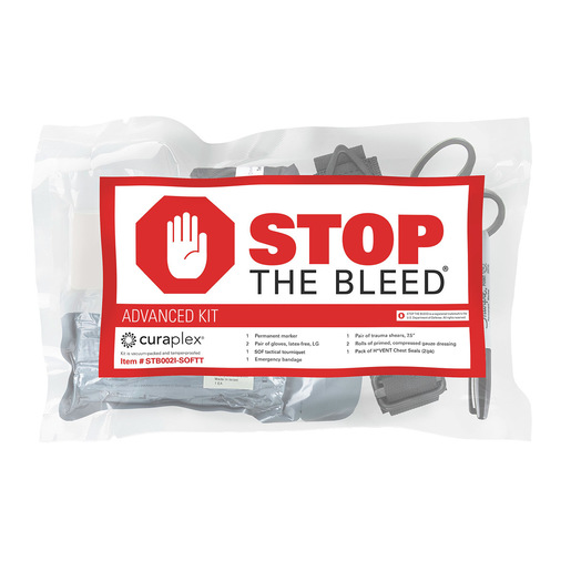 Curaplex® Stop the Bleed®, Intermediate Kit w/ SOFT-T