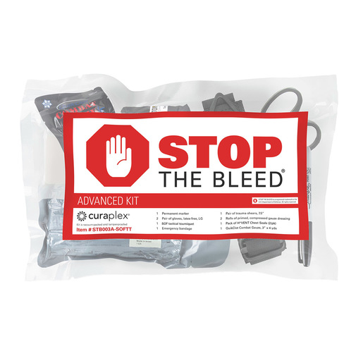 Curaplex® Stop the Bleed®, Advanced Kit w/ SOFT-T