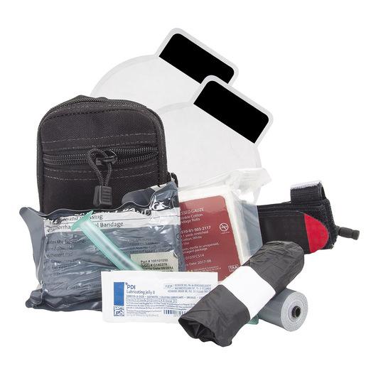 Intermediate Compact Responder Kit with C-A-T Tourniquet, Level 1, Black