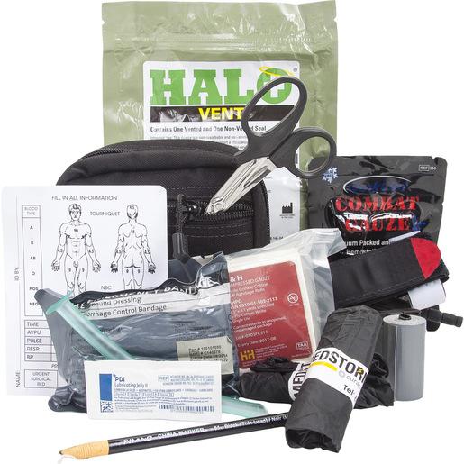 *Discontinued* Advanced Compact Responder Kit with A-T Tourniquet, Level 2, C-Black