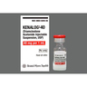 Kenalog Vial, 1mL, 40mg *Non-Returnable and Non-Cancelable*