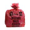 Biohazard Bag, Red, 30 gal, 3 mil