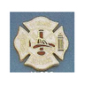 Fire Service Pin, Maltese Cross, 11 Years