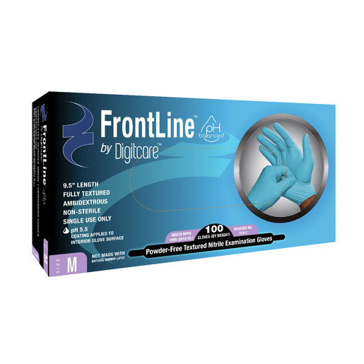Frontline™ 9.5 Exam Gloves, Blue