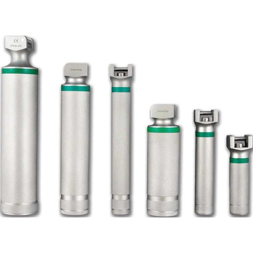 Greenline Surgical Stainless Steel Fiber Optic Handles
