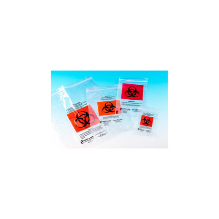 Biohazard Specimen Bags with Documentation Pocket