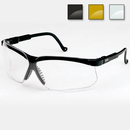 Genesis Black Frame Safety Glasses