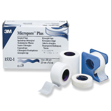 Micropore Paper Adhesive Tapes with Dispenser