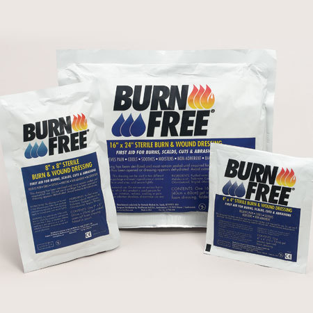 Burnfree Sterile Burn Dressings