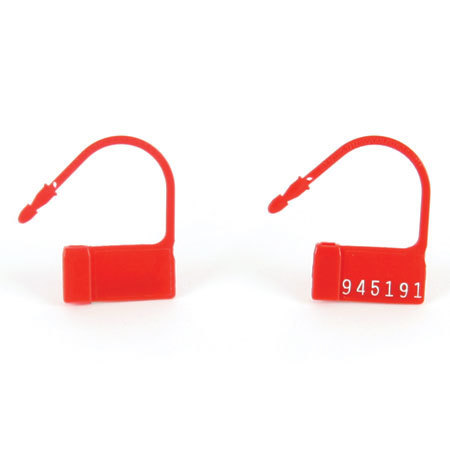 Safety Control Seals with Numbers
