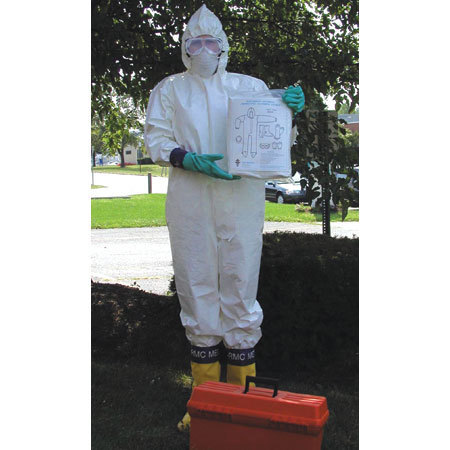 Hazmat Protection Clothing Packets