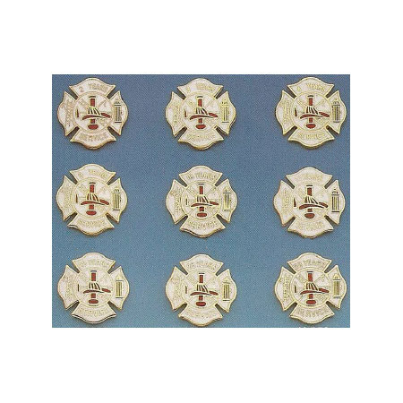 Maltese Cross Uniform Pins