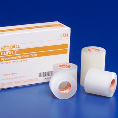 Hypoallergenic Clear Tapes