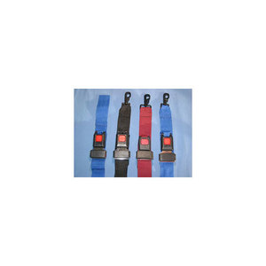 Stretcher Straps, 2 Piece, Metal Push Button