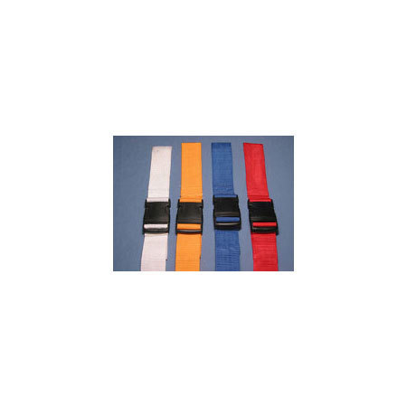 Stretcher Straps, 2 Piece, Plastic Side Release Buckle