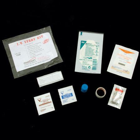 IV Start Kits with Tegadem Dressing, Latex Free Tourniquets