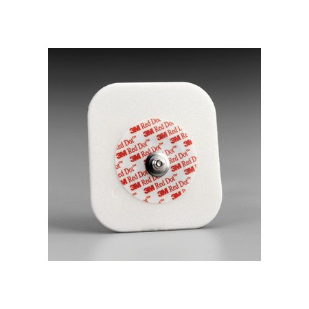 Red Dot Diaphoretic Foam Monitoring Electrode