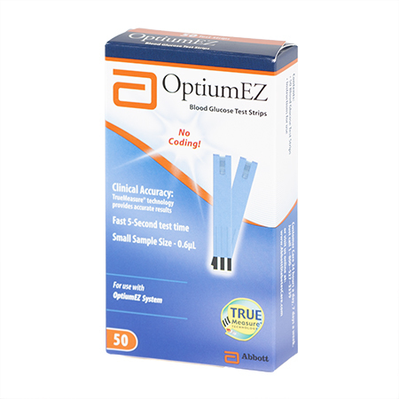 Optium EZ Glucose Test Strips