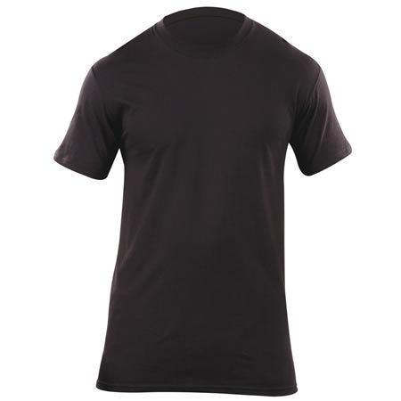 5.11® Men's Utili-T Crew 3 Pack Short Sleeve, Black
