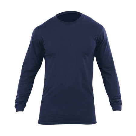 5.11® Men's Utili-T Long Sleeve, Dark Navy, 2PK