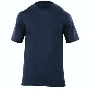 5.11 Men's Station Wear T-Shirts, Short Sleeve, Fire Navy