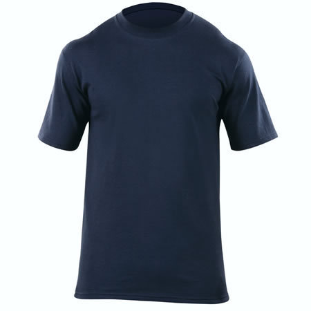 5.11® Men's Station Wear Short Sleeve T-Shirt, Fire Navy
