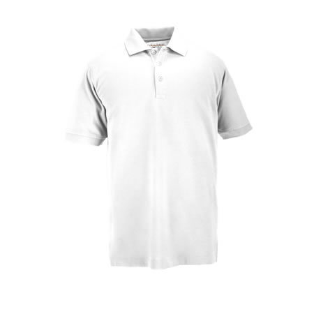 5.11 Men's Professional Short Sleeve Polo, White