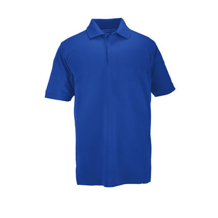5.11® Men's Professional Polo Shirts, Short Sleeve, Academy Blue