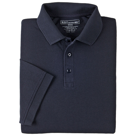 5.11 Men's Professional Polo Shirts, Short Sleeve, Tall, Dark Navy