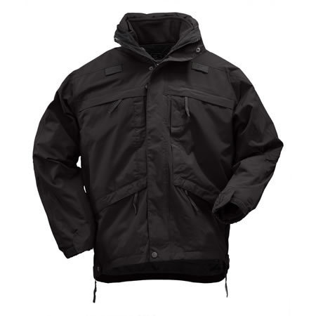 5.11 Men's 3-in-1 Parkas, Black