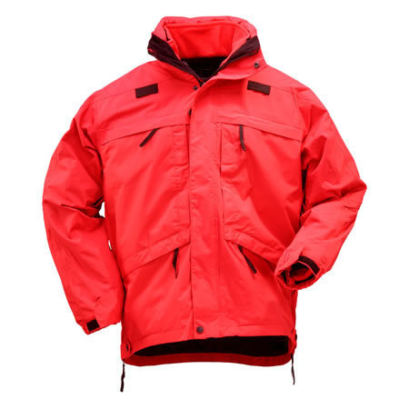 5.11 Men's 3-in-1 Parkas, Range Red
