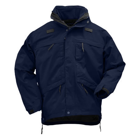 5.11 Men's 3-in-1 Parkas, Dark Navy