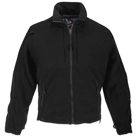 5.11 Men's Tactical Fleece Jackets, Black
