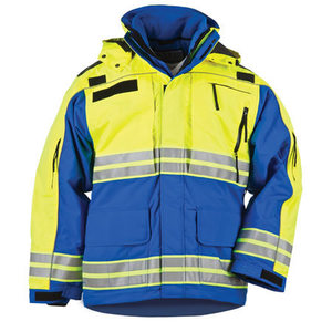 5.11 Men's Responder Hi-Vis Parkas, Royal Blue