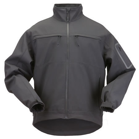 5.11 Men's Chameleon Jackets, Black