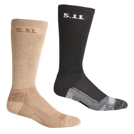 5.11 Men's Level 1 9 inch Socks