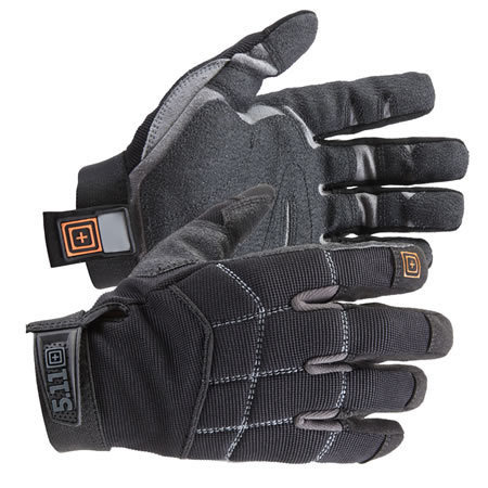 5.11 Men's Station Grip Gloves, Black